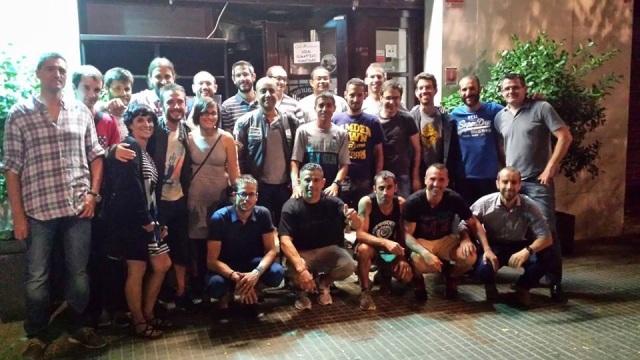 Cena Final de Temporada del Castillejo & Cáceres Running Club. 10 de Julio del 2014.