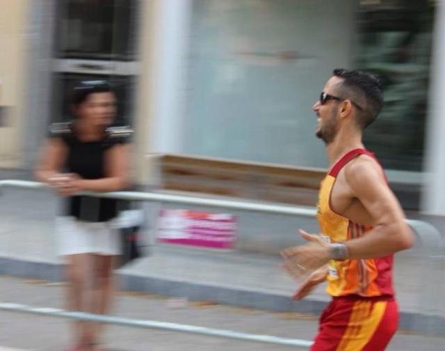 Apurando los últimos metros de la cursa.