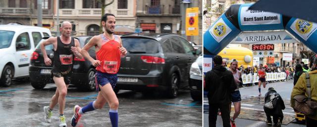 El día que conseguí mi mejor marca personal en 10k. Cursa de Sant Antoni - Enero 2014