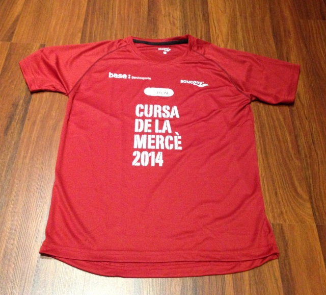 "Camiseta que ""regalan"" con la inscripción."