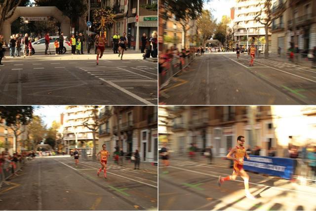 Instantes finales de la cursa.