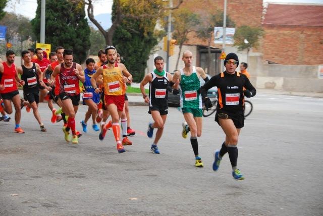 Transcurridos 200 metros de carrera.