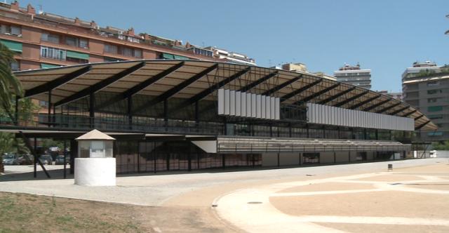 Uno de los centros donde realizo algunos entrenos: el canódromo de Meridiana.