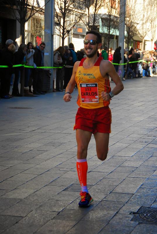Tramo final de la carrera. Foto de Carlos Sánchez de Corredors.cat.