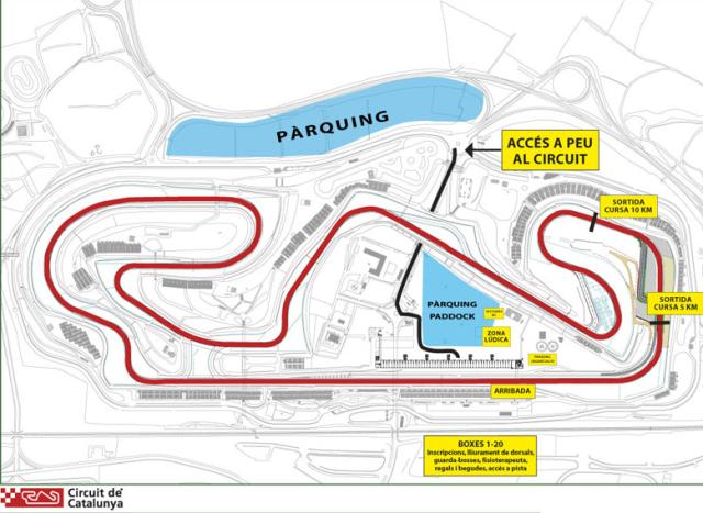 Mapa del circuito.