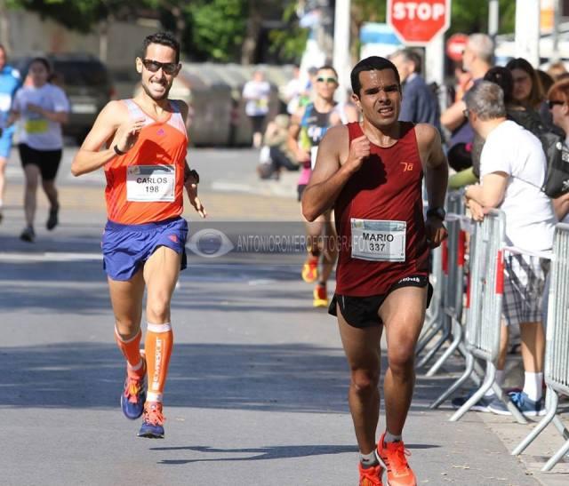 En el sprint final de la cursa.