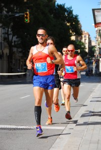 Durante Els 10 Blaus de Gràcia.