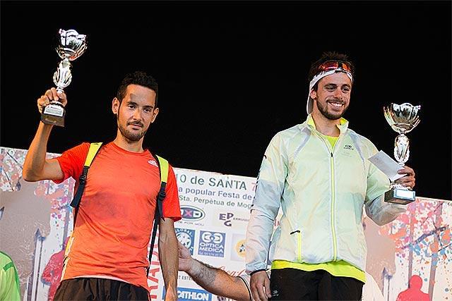 En el podio junto a Jorge Tarracto.