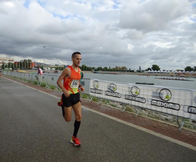 En la recta final a meta de mi anterior participación del 2012.